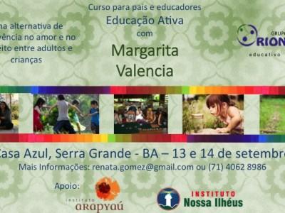 Curso de Educação Ativa no sul da Bahia