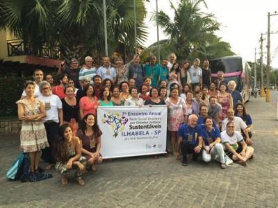 Participantes do 7º Encontro Anual da Rede Social Brasileira por Cidades Justas e Sustentáveis