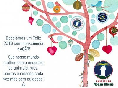 Desejamos um Feliz 2016 com consciência e AÇÃO!