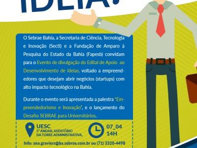 Empreendedorismo: Desenvolva sua idéia!   Nossa Ilhéus